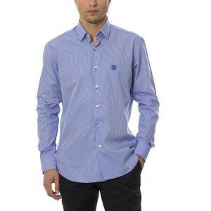 ... White Cotton Slim Fit Shirt.  156  260. NWT Authentic Roberto Cavalli  Blue Linen Long Sl 1d0520c2a